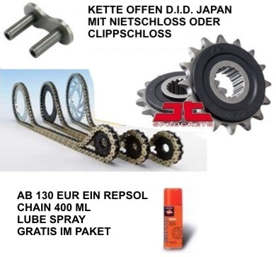 Kettensatz Ducati 950 Multistrada 17-19 DID Japan ZVMX Stahl RB